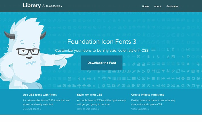 Foundation Icon Fonts 3