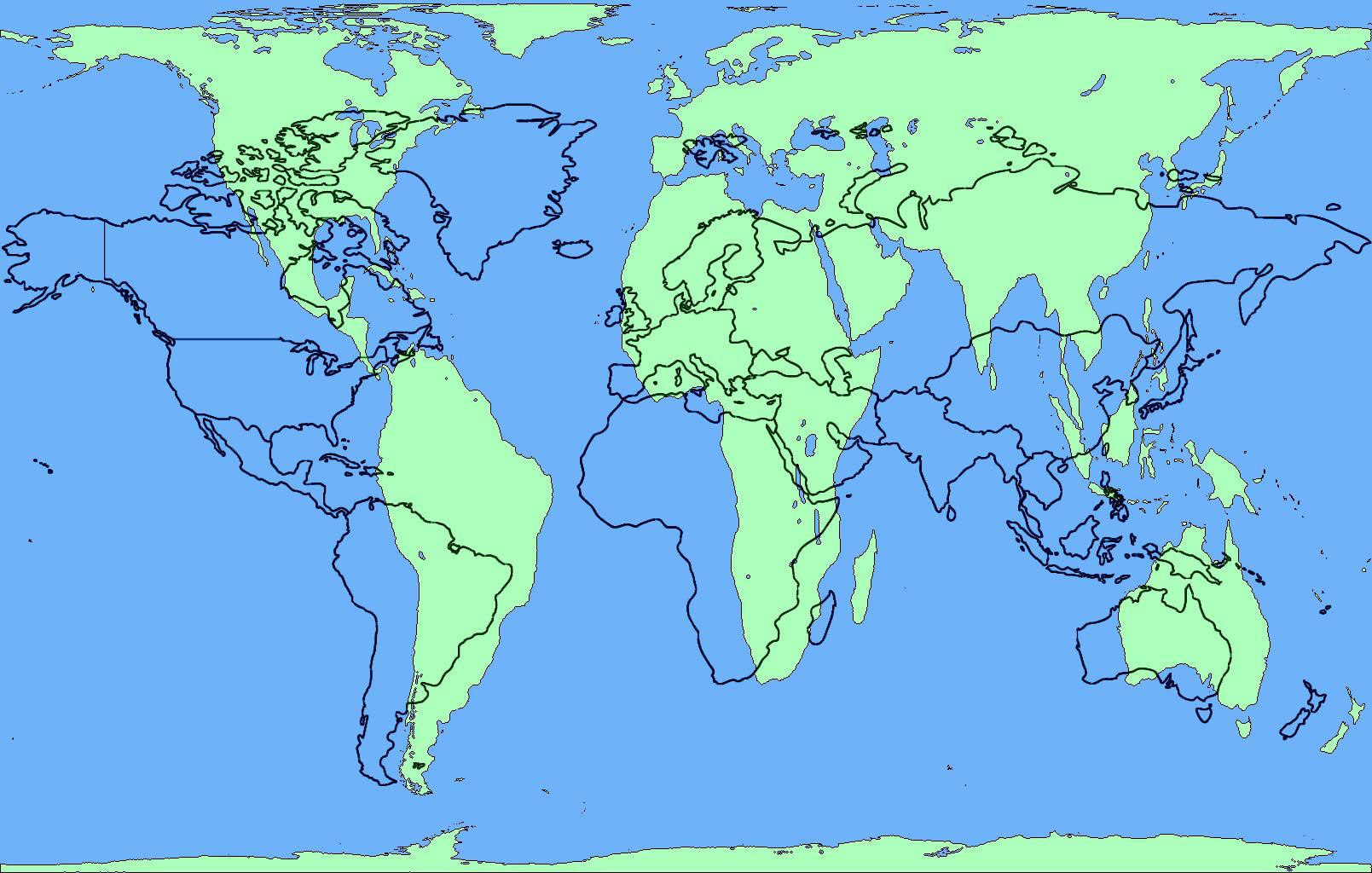 Gerçek Dünya Haritası