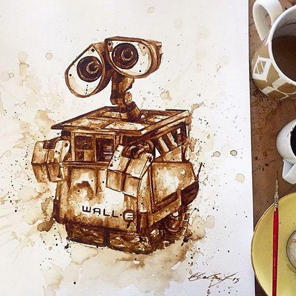 Kahve İle Resim